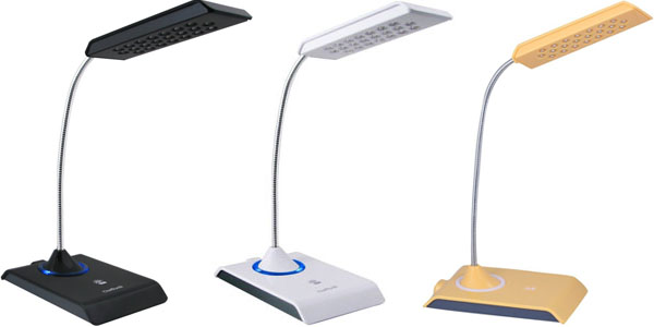lampara led usb daffodil lec200 colores