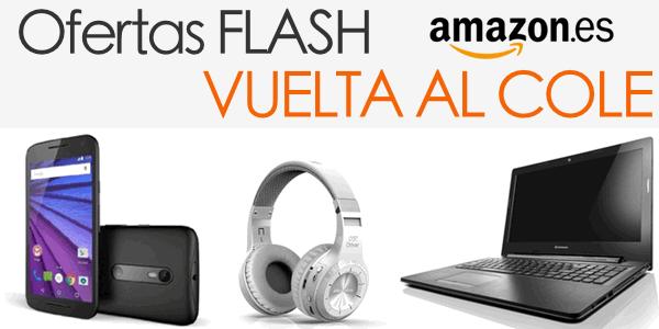 Ofertas Flash Vuelta al Cole Amazon 2015