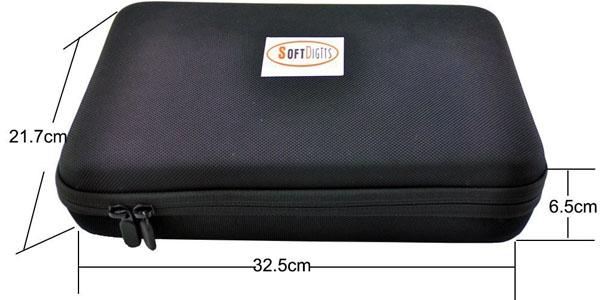 soft digits accesorios gopro 50-en-1 kit maletin