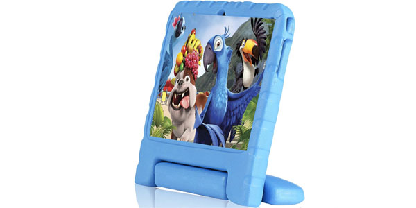 tablet infantil rotor 7 android quad core azul