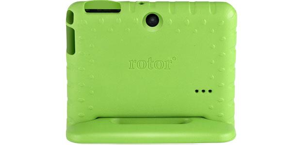 tablet infantil rotor 7 android quad core verde