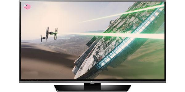 television lg 55LF630V ips smarttv frontal