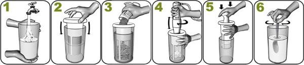utensilio bebida vegetal chufamix uso