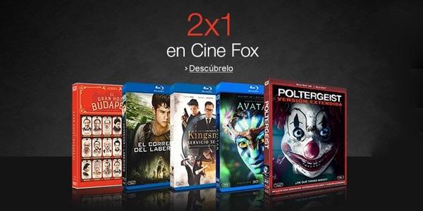 2x1 Blu-ray Fox septiembre 2015