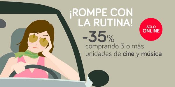 35% de descuento El Corte Inglés cine