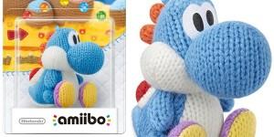 Amiibo Yoshi Wool Azul barato