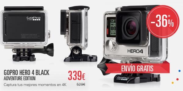 GoPro HERO4 Black al mejor precio