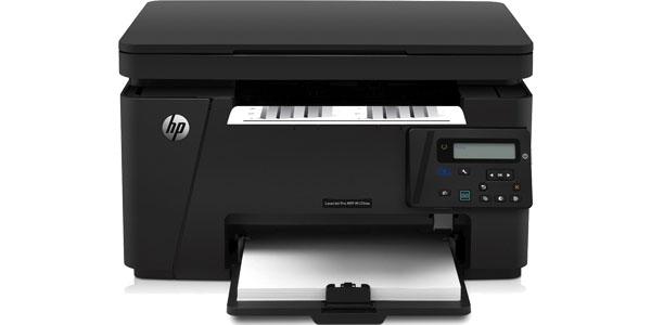 impresora multifuncion blanco negro hp laserJet pro mfp-m125nw frente