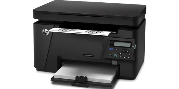 impresora multifuncion blanco negro hp laserJet pro mfp-m125nw