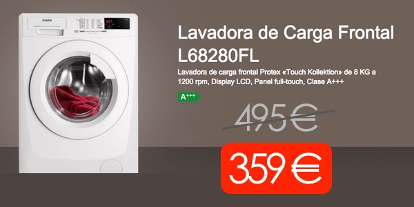 Lavadora AEG L68280FL barata