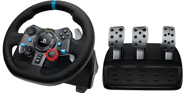 logitech g29 volante simulador carreras