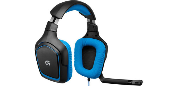 logitech g430 gaming surround Sound 7.1 auricular headset