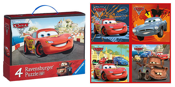 maletín puzzles Cars