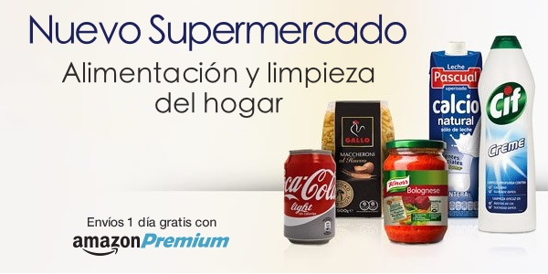 Supermercado online Amazon España