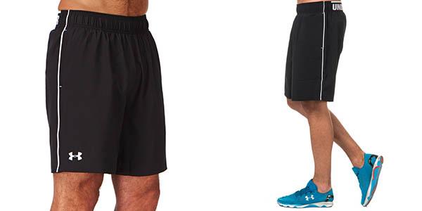 Impresión cúbico borde  Oferta pantalones cortos Under Armour Mirage de 8