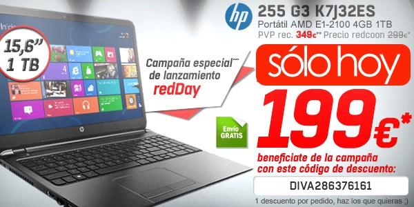 Portátil HP 255 G3 barato