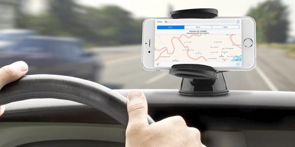 Soportes de coche para smartphone buenos y baratos Aukey