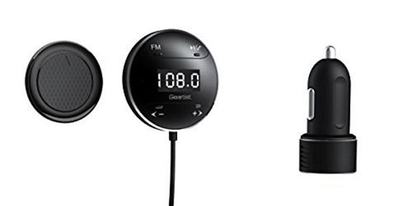 Transmisor Bluetooth manos libres para el coche