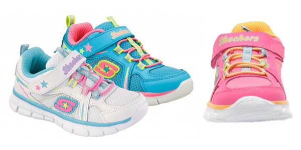 zapatillas para niña skechers baratas