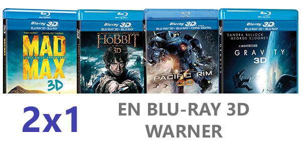 2x1 Blu-Ray 3D Warner
