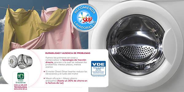 LG lavadora F12C3QDP Direct Drive
