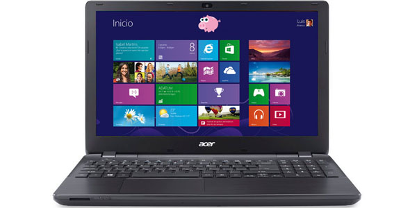acer aspire e5 573 327z intel core i3 4005u 4gb 500gb 15.6 portatil