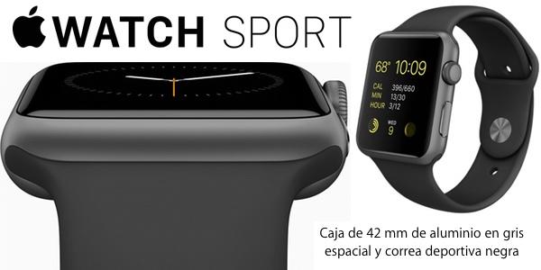 Apple Watch Sport negro barato