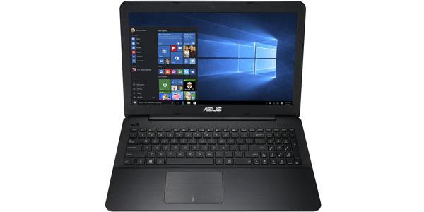asus x554la xx1224h ordenador portátil 15.6 intel core i3 5005u 4gb 500gb windows8.1 wifi bluetooth frente