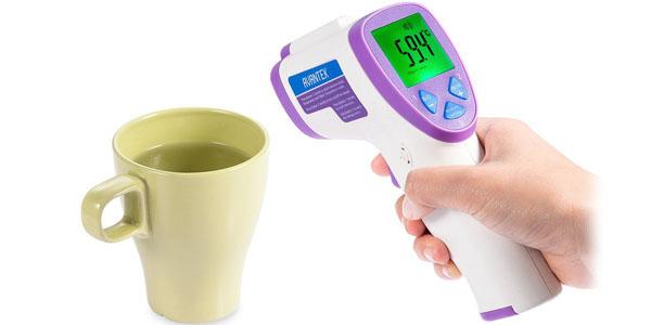 avantek termometro digital infrarrojo objetos