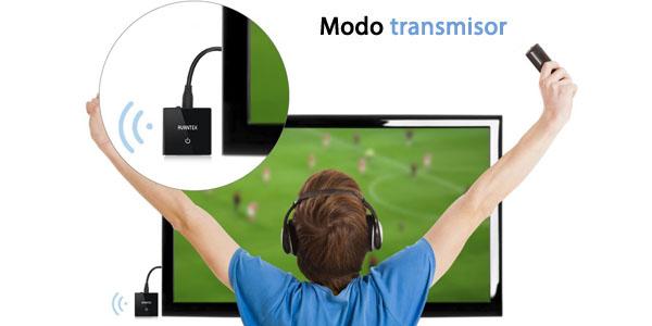 avantek transmisor receptor bluetooth portatil adaptador 2 en 1 transmite