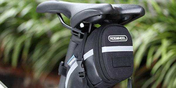 Bolsa para asiento bici