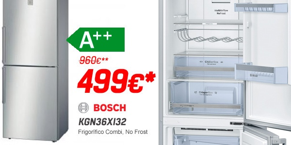 Bosch KGN36XI32 al mejor precio