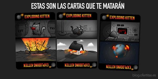 Cartas de Gatitos Explosivos