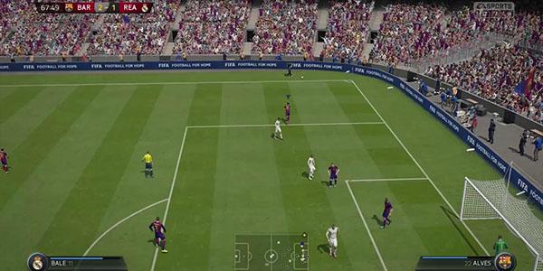 Gameplay Fifa 16 Xbox One