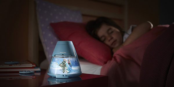 Lámpara proyector Disney Frozen