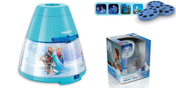 Lámpara noche Philips Disney Frozen