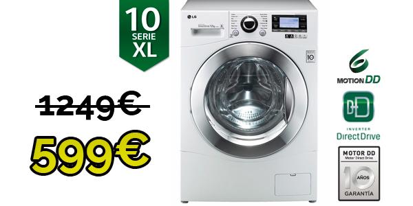 lavadora lg f1495bda 12kg eficiente 1400rpm oferta