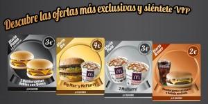 Cupones descuento McDonalds octubre 2015