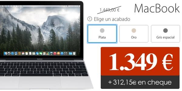 Nuevo MacBook 2015 barato