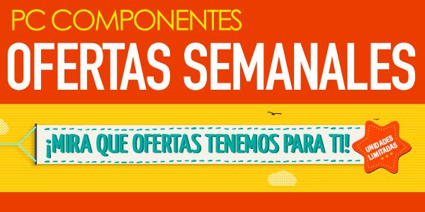 Ofertas semanales PCComponentes 13-10-2015