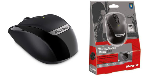 Ratón Microsoft Wireless Mobile Mouse 3000 v2
