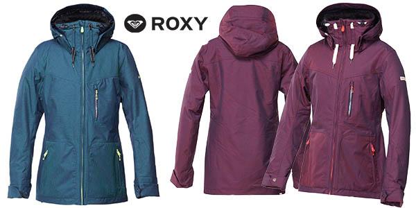 roxy wildlife chaqueta nieve