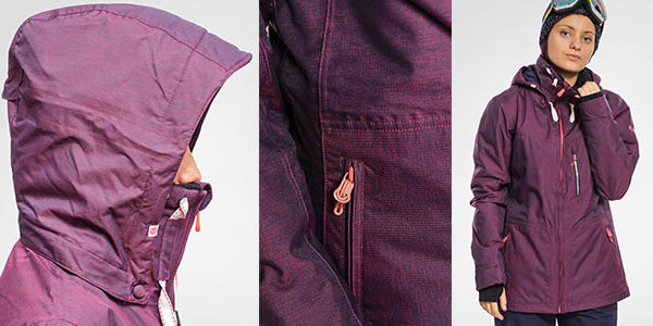 roxy wildlife chaqueta snowboard