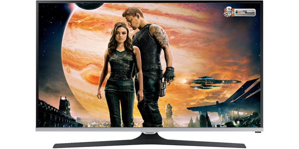 samsung UE32J5100 television 32 lateral