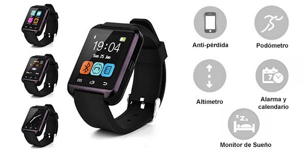 Smartwatch Swees U8 características