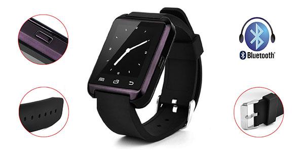 Detalles smartwatch Swees U8