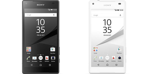 sony xperia z5 compact 32gb compact blanco negro