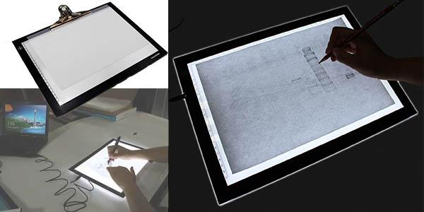 Tablero digital con luz