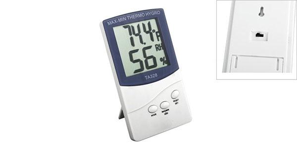 Termómetro/Higrómetro barato