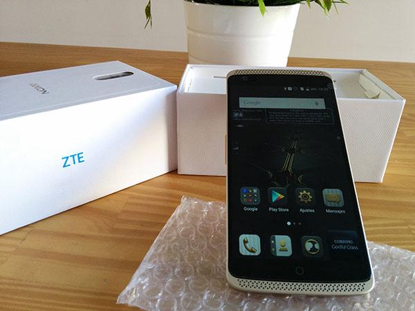 Nuevo smartphone ZTE Axon elite de Gearbest